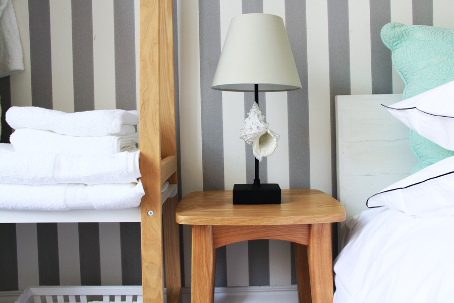 Lamps and pillows
