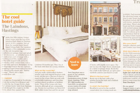 Cool Hotel Guide - The Times
