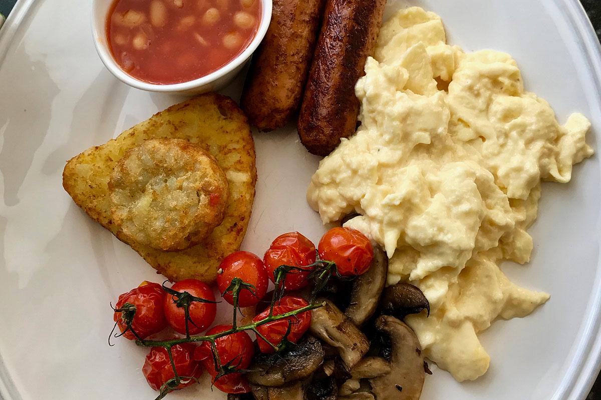 Full English breaksfast