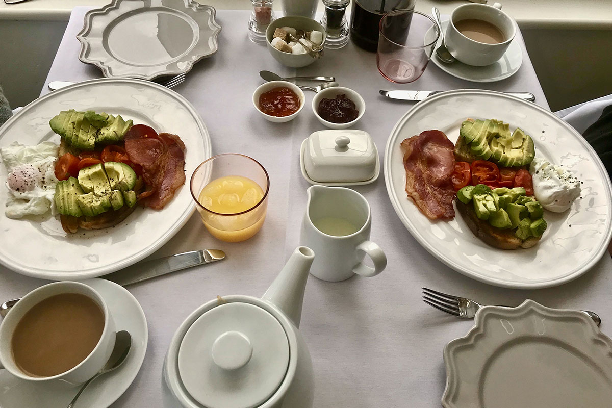 Breakfast to start your day