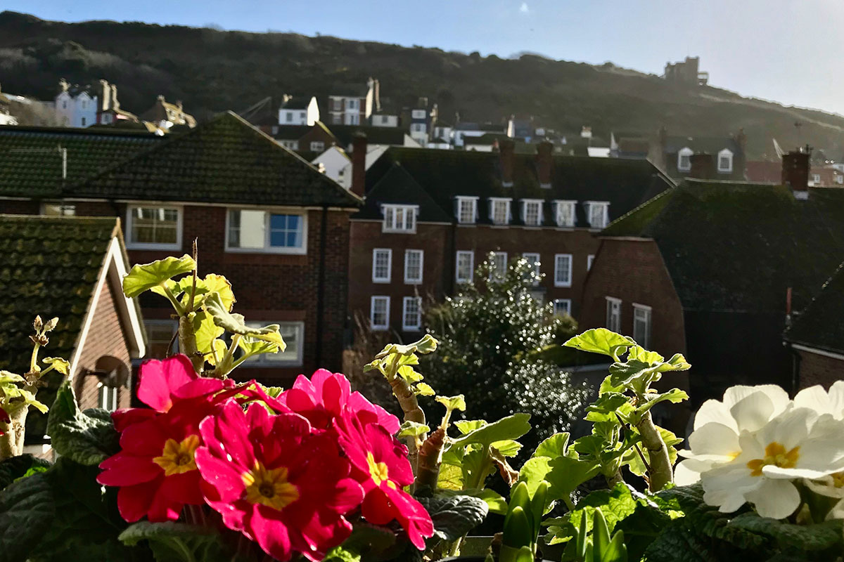 Sunshine in Hastings