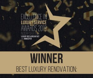 Luxury B&B Awards Winner Renovation