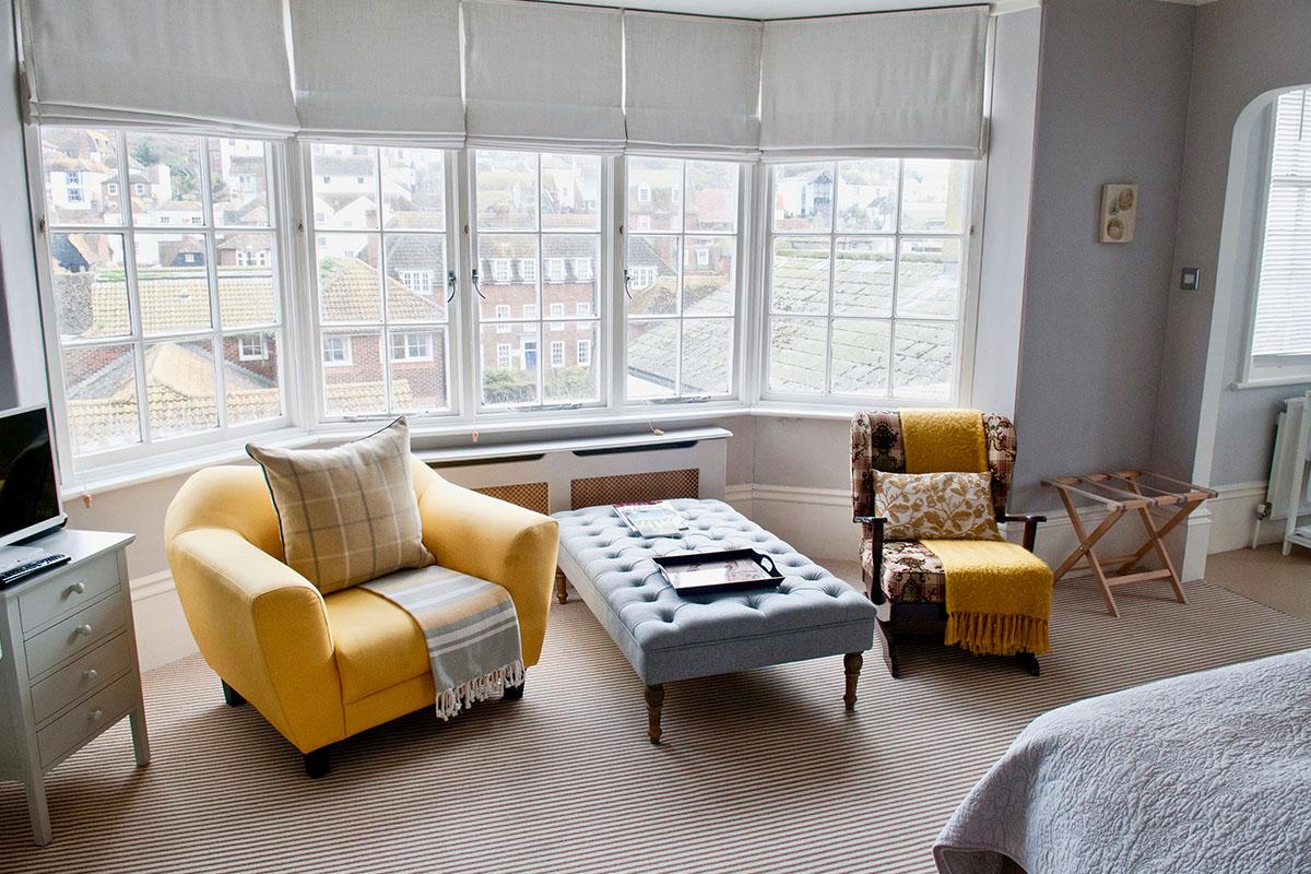 Yellow room views